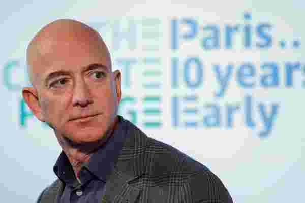杰夫·贝佐斯 (Jeff Bezos) 承诺提供100亿美元来应对气候变化