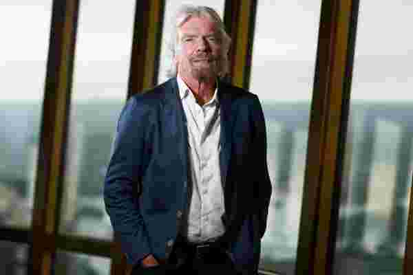 理查德·布兰森 (Richard Branson) 解释了为什么大多数企业家缺乏正确的心态